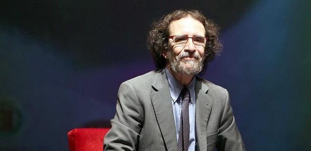 Luis Díaz Viana, uno de los baluartes de la 50 Feria del Libro de Valladolid
